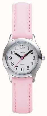 Timex レディース/キッズピンクストラップウォッチ T79081