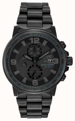 Citizen メンズエコドライブナイトホークモノクロ時計 CA0295-58E