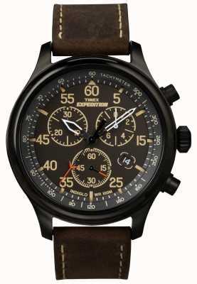 Timex ゲントの遠征のクロノグラフウォッチ T49905
