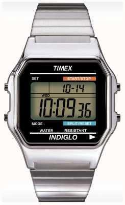 Timex ゲントのインディゴアラームクロノグラフウォッチ T78587