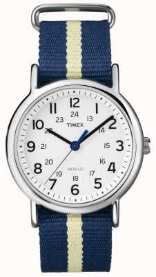 Timex ユニセックスインディグロウィークエンドウォッチ T2P142