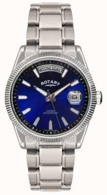 Rotary ゲントのステンレススチール製のブレスレットハバナの腕時計 GB02660/05