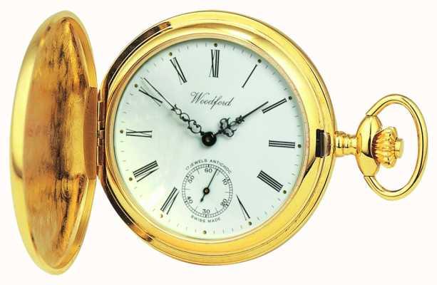 Woodford |フルハンター|金メッキ|懐中時計| 1016