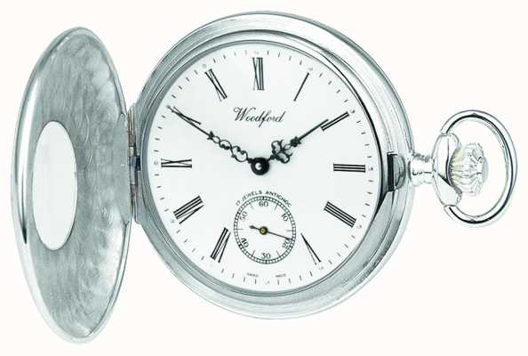 Woodford |ハーフハンター|スターリングシルバー|懐中時計| 1004
