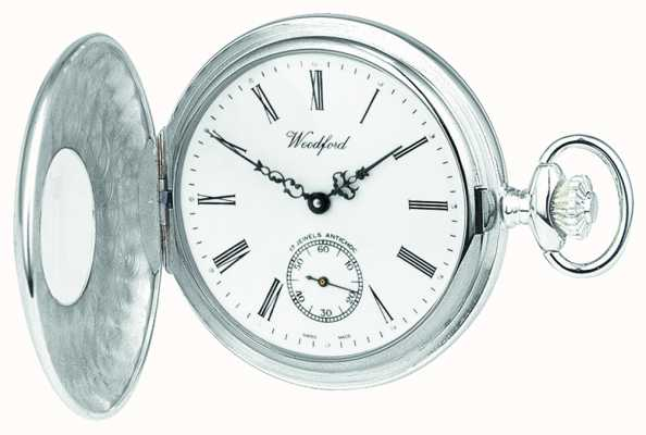 Woodford |ハーフハンター|スターリングシルバー|懐中時計| 1005