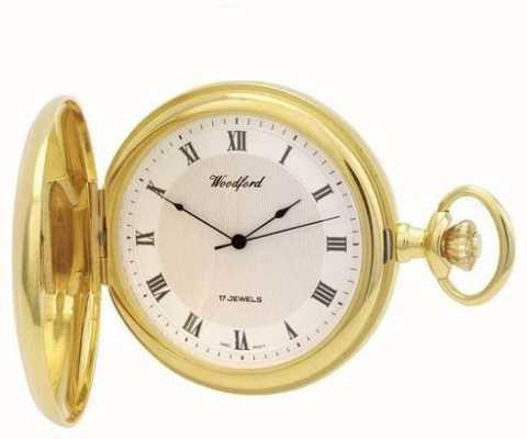 Woodford |フルハンター|金メッキ|懐中時計| 1028