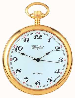 Woodford アラビアダイヤモンドの機械式懐中時計 1031