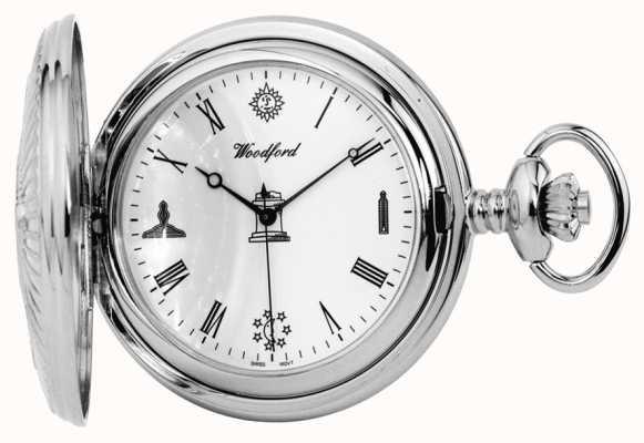 Woodford フリーメーソンの懐中時計 1227