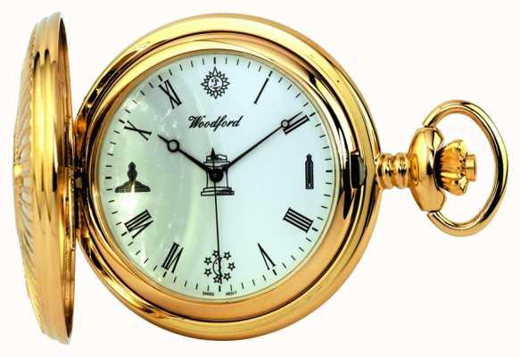 Woodford フリーメーソンの懐中時計 1214