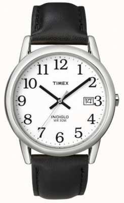 Timex メンズホワイトブラックレディーウォッチ T2H281