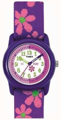 Timex ストラップ時計の時間を教えることを学ぶ T89022