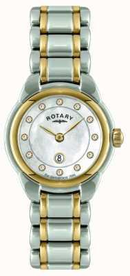 Rotary レディーストーンブレスレットウォッチ LB02602/41L