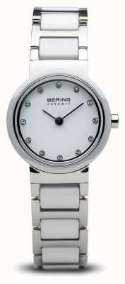 Bering デュアルトーンセラミックウォッチミニマリスト 10725-754