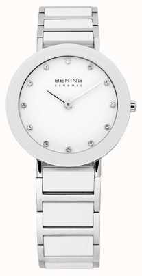 Bering セラミック&金属ブレスレットウォッチ 11429-754
