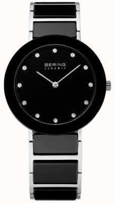 Bering クリスタルインセットセラミックデザイナーウォッチ 11435-749