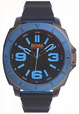 Hugo Boss Orange メンズクラシックウォッチブラックダイヤル 1513108