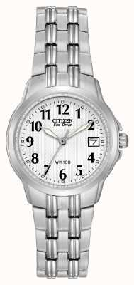 Citizen レディースシルエットスポーツエコドライブウォッチ EW1540-54A