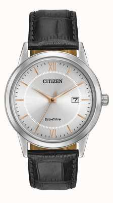Citizen メンズストラップエコドライブウォッチ AW1236-03A
