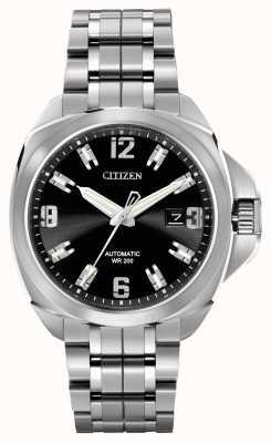 Citizen 自動グランドツーリングシグネチャーステンレススチール NB0070-57E