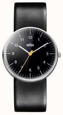 Braun メンズオールブラッククォーツ時計 BN0021BKBKG