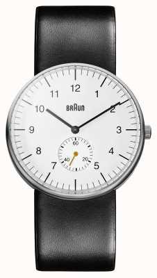 Braun メンズホワイトブラックウォッチ BN0024WHBKG