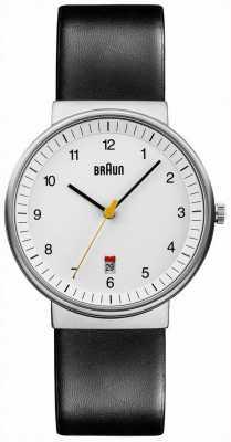 Braun メンズ全ての白黒の時計 BN0032WHBKG