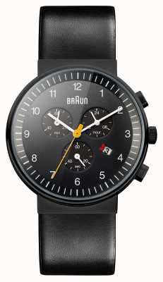 Braun メンズクロノグラフ全黒時計 BN0035BKBKG
