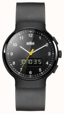 Braun ゲントのブラッククラシックアナディジ時計 BN0159BKBKG