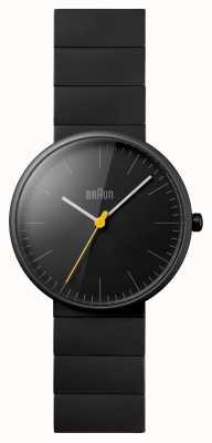 Braun ユニセックスブラックセラミックドレスウォッチ BN0171BKBKG