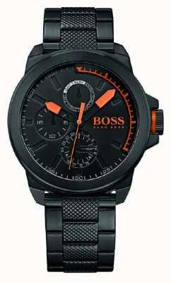 Hugo Boss Orange メンズブラックIPブラックダイヤル 1513157
