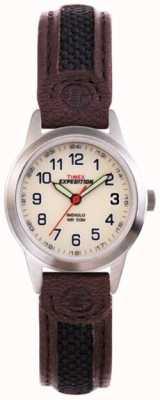 Timex レディースインディゴ遠征フィールドウォッチ T41181