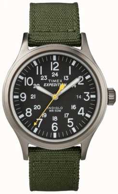 Timex Mens indiglo遠征腕時計 T49961