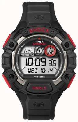 Timex 遠征世界ショックアラームクロノグラフ T49973