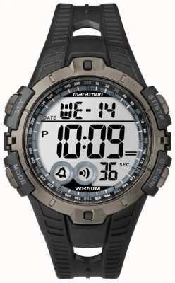Timex メンズインディゴマラソンアラームクロノグラフ T5K802
