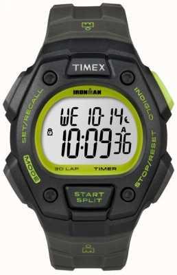 Timex メンズアイアンマンクラシック30デジタルグリーンケース T5K824