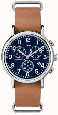 Timex メンズウィークエンドクロノグラフオーバーサイズ TW2P62300