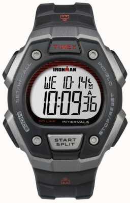 Timex メンズアイアンマンクラシック50ブラックレジン TW5K85900
