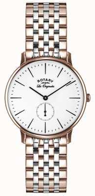 Rotary メンズレオリジナル2トーン GB90057/06