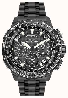 Citizen プロメスターnavihawk gpsブラックスーパーチタン CC9025-85E