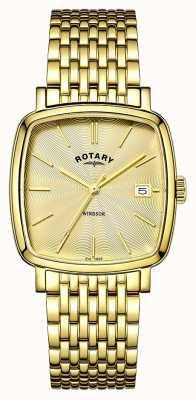 Rotary メンズウィンザーゴールドpvdメッキ GB05308/03
