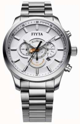 FIYTA ステンレススチールクロノグラフウォッチ G788.WWW
