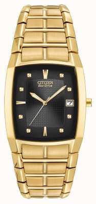 Citizen メンズイオンメッキメンズブレスレット BM6552-52E