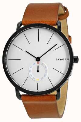 Skagen メンズレザーストラップウォッチハーゲン SKW6216