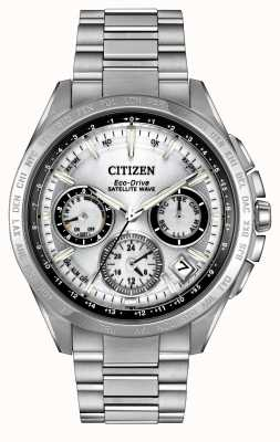 Citizen メンズエコドライブシルバー衛星の波f900 CC9010-74A