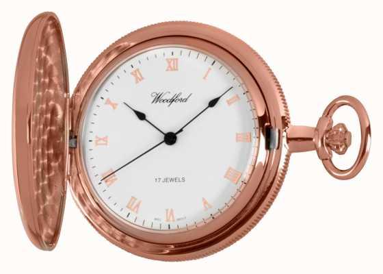 Woodford フルハンターバラゴールド懐中時計 1091