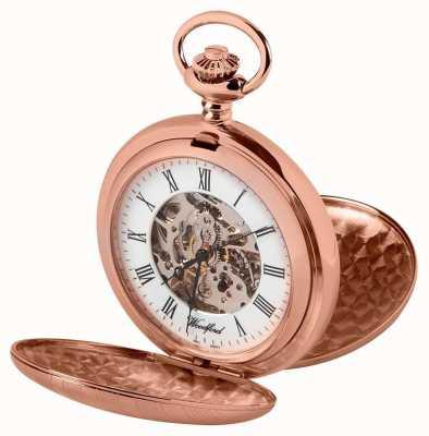 Woodford ダブルハンターバラゴールド懐中時計 1090