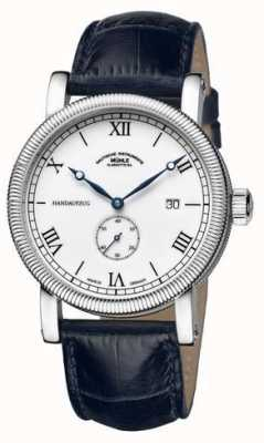 Muhle Glashutte Exディスプレイteutonia iii handaufzug kleine sekunde leather M1-08-11-LB-EX-DISPLAY