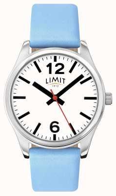Limit レディースブルーストラップホワイトダイヤル 6182.01