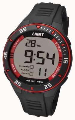 Limit メンズブラックストラップデジタルダイヤル 5572.24
