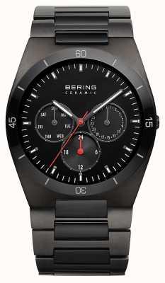 Bering メンズブラックipメッキブラックダイヤル 32341-792